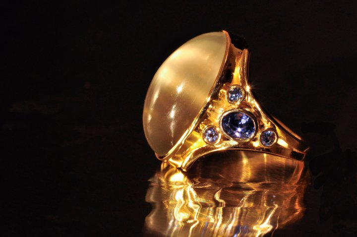 Custom Goldsmith Jewelry Designs by Catherine Dining