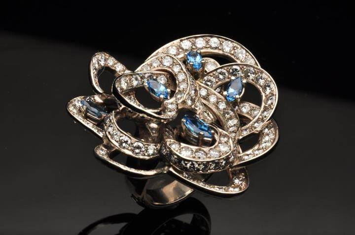 Diamond Explosion Statement Ring by Catherine Dining