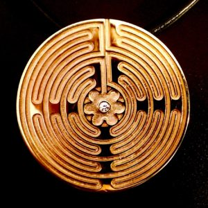 Chartres Labyrinth Pendant CG Designs
