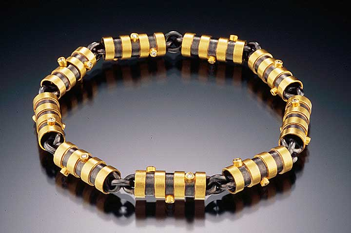 Multi-Barrels Bracelet by Catherine Dining CG Designs