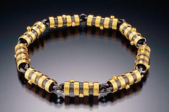 Barrels Bracelet by Catherine Dining CG Designs