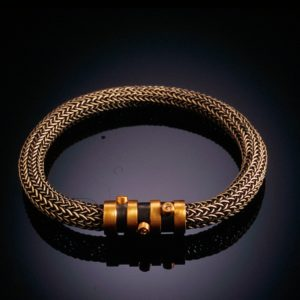 Classic Bracelet with Barrel by Catherine Dining, CG Designs