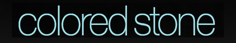 Colored Stone magazine logo